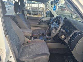 2006 Mitsubishi Pajero NS GLX LWB (4x4) White 5 Speed Auto Sports Mode Wagon