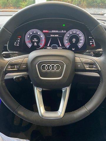 Used Audi Q8 55 TFSI Tiptronic Quattro Essendon Fields, 2019 Audi Q8 55 TFSI Tiptronic Quattro Black 8 Speed Sports Automatic Wagon