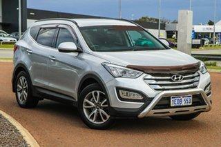 2014 Hyundai Santa Fe DM MY14 Elite Silver 6 Speed Sports Automatic Wagon.