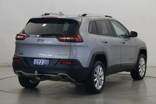 2014 Jeep Cherokee KL MY15 Limited Silver 9 Speed Sports Automatic Wagon
