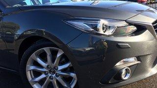 2016 Mazda 3 BM5438 SP25 SKYACTIV-Drive GT Grey 6 Speed Sports Automatic Hatchback.