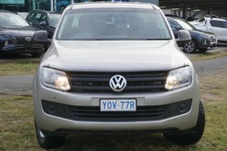 2015 Volkswagen Amarok 2H MY15 TDI420 4MOTION Perm Core Beige 8 Speed Automatic Cab Chassis.