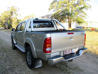 2010 Toyota Hilux KUN26R 09 Upgrade SR5 (4x4) Sterling Silver 5 Speed Manual Dual Cab Pick-up