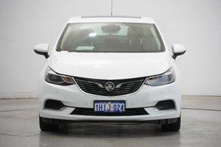 2017 Holden Astra BL MY18 LTZ White 6 Speed Sports Automatic Sedan.