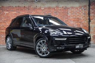 2015 Porsche Cayenne 92A MY15 GTS Tiptronic Black 8 Speed Sports Automatic Wagon.