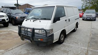 2008 Mitsubishi Express SJ M07 SWB White 5 Speed Manual Van.