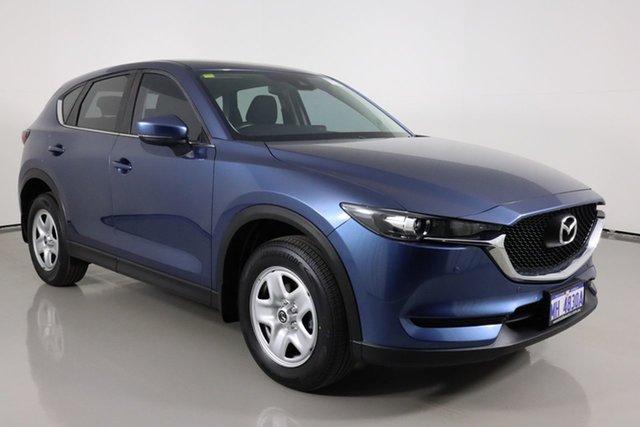 Used Mazda CX-5 MY17.5 (KF Series 2) Maxx (4x2) Bentley, 2017 Mazda CX-5 MY17.5 (KF Series 2) Maxx (4x2) Blue 6 Speed Automatic Wagon