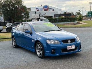 2012 Holden Commodore VE II SV6 Blue 6 Speed Sports Automatic Sedan.