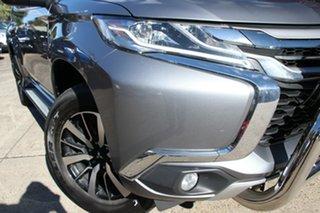 2017 Mitsubishi Pajero Sport MY17 GLS (4x4) 7 Seat Grey 8 Speed Automatic Wagon.