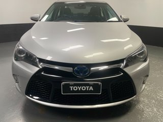 2015 Toyota Camry AVV50R Atara SL Classic Silver 1 Speed Constant Variable Sedan Hybrid.