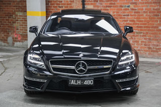 2011 Mercedes-Benz CLS-Class C218 CLS63 AMG Coupe SPEEDSHIFT MCT Obsidian Black 7 Speed