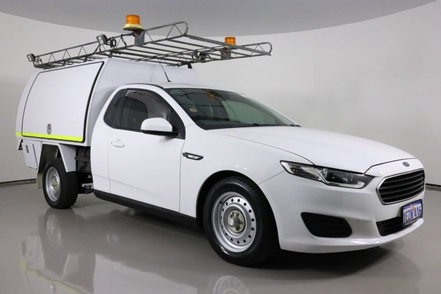 Used Ford Falcon FG X (LPi) Bentley, 2016 Ford Falcon FG X (LPi) White 6 Speed Automatic Cab Chassis
