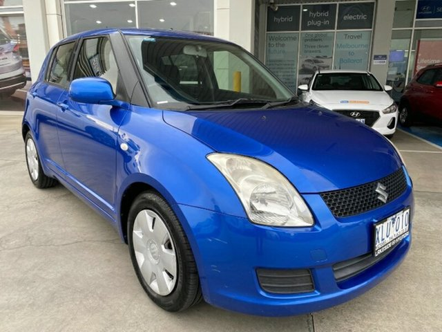 Used Suzuki Swift RS415 S Melton, 2009 Suzuki Swift RS415 S Blue 4 Speed Automatic Hatchback