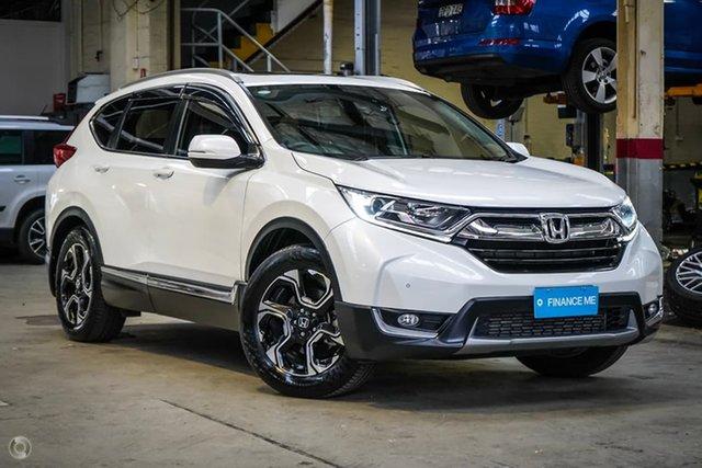 Used Honda CR-V RW MY18 VTi-L FWD Parramatta, 2018 Honda CR-V RW MY18 VTi-L FWD White 1 Speed Constant Variable Wagon