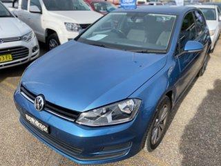 2015 Volkswagen Golf VII MY15 90TSI DSG Comfortline Pacific Blue 7 Speed.