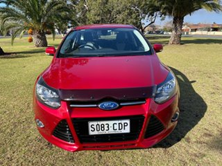 2013 Ford Focus LW MkII Sport PwrShift Red 6 Speed Sports Automatic Dual Clutch Hatchback.
