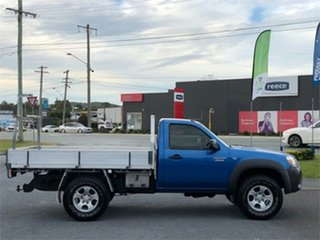 2010 Mazda BT-50 UNY0E4 DX Blue 5 Speed Manual Cab Chassis