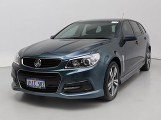 2014 Holden Commodore VF SV6 Blue 6 Speed Automatic Sportswagon.