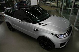 2019 Land Rover Range Rover Sport L494 19.5MY SE Silver 8 Speed Sports Automatic Wagon