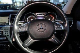 2014 Mercedes-Benz M-Class W166 MY805 ML250 BlueTEC 7G-Tronic + Silver, Chrome 7 Speed