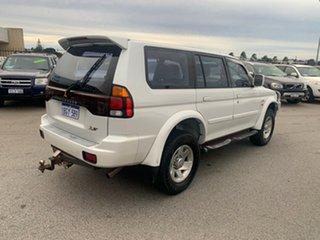 2002 Mitsubishi Challenger PA XS White 4 Speed Automatic Wagon