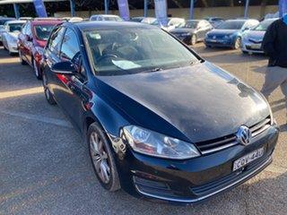 2013 Volkswagen Golf VII 103TSI DSG Highline Deep Black Pearl Effect 7 Speed.