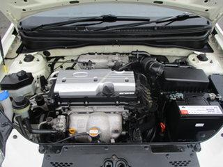 2009 Kia Rio JB EX White 4 Speed Automatic Hatchback