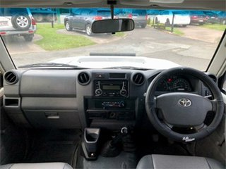2013 Toyota Landcruiser VDJ79R Workmate 5 Speed Manual Cab Chassis