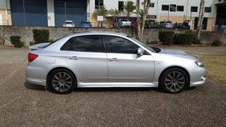 2010 Subaru Impreza MY10 WRX (AWD) Silver 5 Speed Manual Sedan.