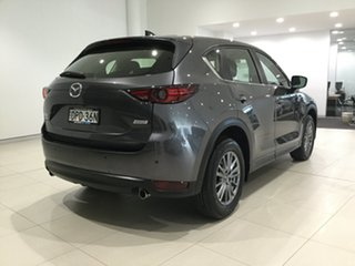 2017 Mazda CX-5 KF4WLA Touring SKYACTIV-Drive i-ACTIV AWD Machine Grey 6 Speed Sports Automatic.