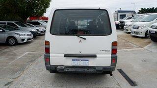 2008 Mitsubishi Express SJ M07 SWB White 5 Speed Manual Van
