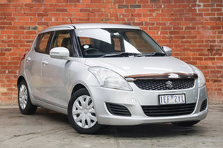2013 Suzuki Swift FZ MY13 GL Silver 4 Speed Automatic Hatchback.