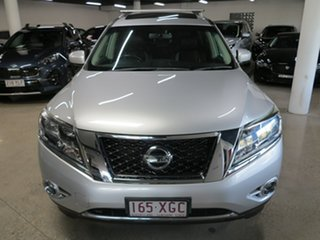 2016 Nissan Pathfinder R52 Series II MY17 ST-L X-tronic 2WD Silver 1 Speed Constant Variable Wagon.