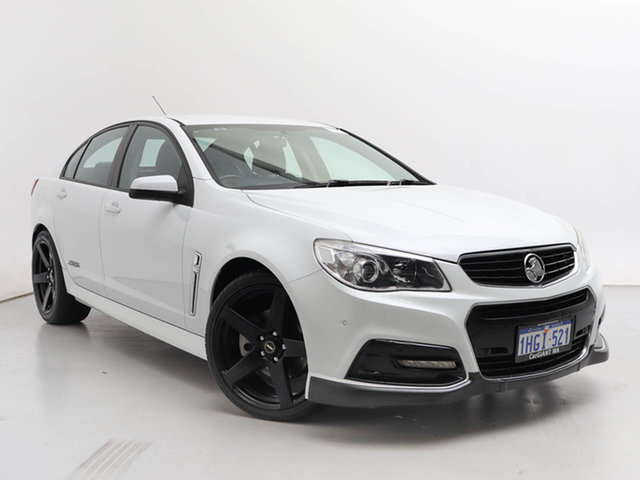 Used Holden Commodore VF SS, 2014 Holden Commodore VF SS White 6 Speed Automatic Sedan