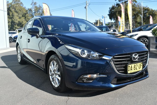 Used Mazda 3 BN5478 Maxx SKYACTIV-Drive Gosford, 2017 Mazda 3 BN5478 Maxx SKYACTIV-Drive Blue 6 Speed Sports Automatic Hatchback