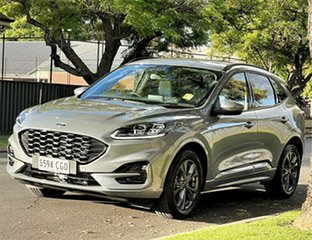2020 Ford Escape ZH 2020.75MY ST-Line Solar Silver/nzc 8 Speed Sports Automatic SUV.