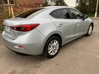 2017 Mazda 3 BN Series Maxx Silver Sports Automatic Sedan.