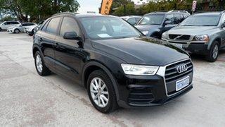 2016 Audi Q3 8U MY16 TFSI S Tronic Black 6 Speed Sports Automatic Dual Clutch Wagon.