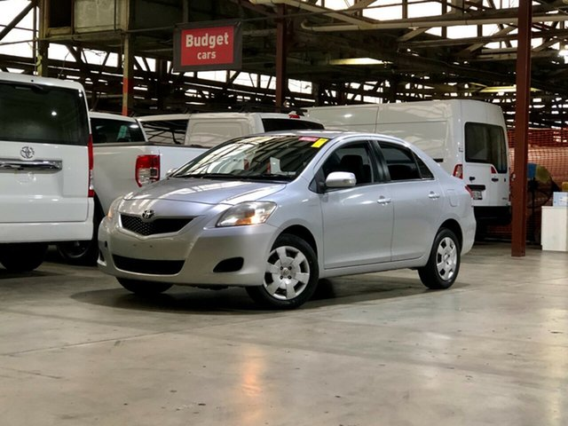 Used Toyota Yaris NCP93R MY10 YRS Mile End South, 2010 Toyota Yaris NCP93R MY10 YRS Silver 5 Speed Manual Sedan