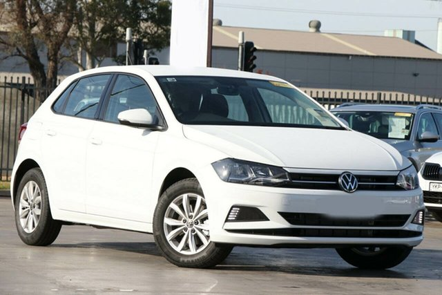 New Volkswagen Polo AW MY21 85TSI DSG Comfortline Victoria Park, 2021 Volkswagen Polo AW MY21 85TSI DSG Comfortline Pure White 7 Speed Sports Automatic Dual Clutch