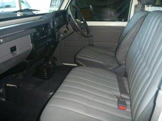 1998 Toyota Landcruiser HZJ75RP White 5 Speed Manual Cab Chassis