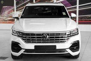 2021 Volkswagen Touareg CR MY21 210TDI Tiptronic 4MOTION R-Line White 8 Speed Sports Automatic Wagon.