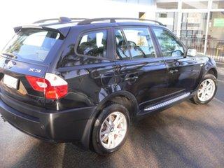 2004 BMW X3 E83 MY05 Steptronic Black 5 Speed Sports Automatic Wagon.