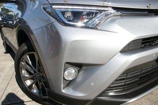 2018 Toyota RAV4 ASA44R MY18 Cruiser (4x4) Silver Sky 6 Speed Automatic Wagon.