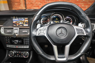 2011 Mercedes-Benz CLS-Class C218 CLS63 AMG Coupe SPEEDSHIFT MCT Obsidian Black 7 Speed.