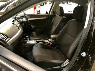 2010 Mitsubishi Lancer CJ MY10 ES Black 6 Speed Constant Variable Sedan