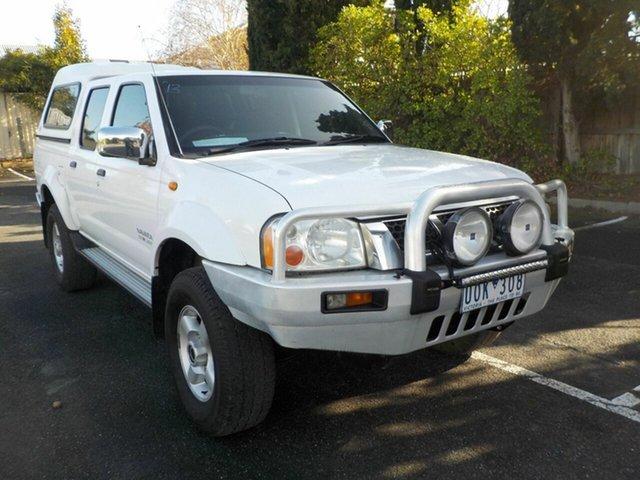 Used Nissan Navara D22 ST-R (4x4) Newtown, 2006 Nissan Navara D22 ST-R (4x4) White 5 Speed Manual Dual Cab Pick-up
