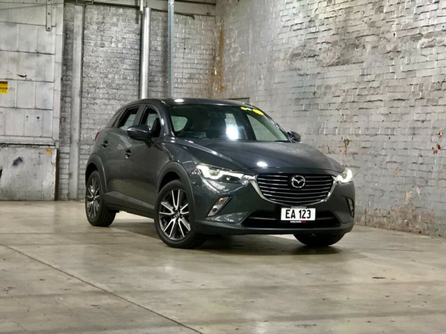 Used Mazda CX-3 DK2W7A sTouring SKYACTIV-Drive Mile End South, 2016 Mazda CX-3 DK2W7A sTouring SKYACTIV-Drive Grey 6 Speed Sports Automatic Wagon