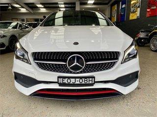 2018 Mercedes-Benz CLA-Class X117 CLA250 Sport White Sports Automatic Dual Clutch Wagon.