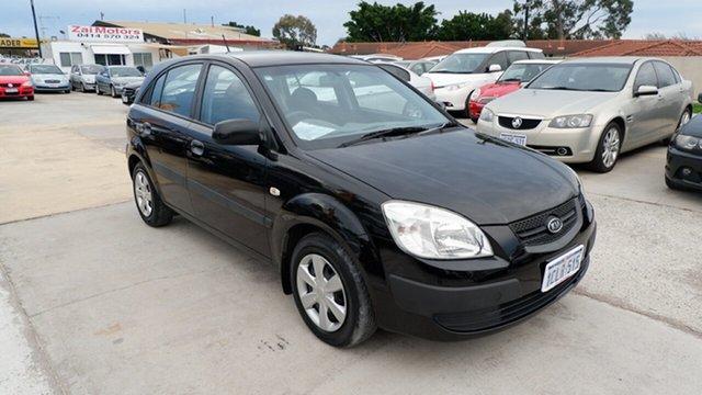 Used Kia Rio JB MY07 EX St James, 2007 Kia Rio JB MY07 EX Black 4 Speed Automatic Hatchback